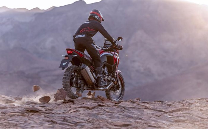 2020 Honda AFRICA TWIN (DCT) - ROUGE Photo 11 of 11
