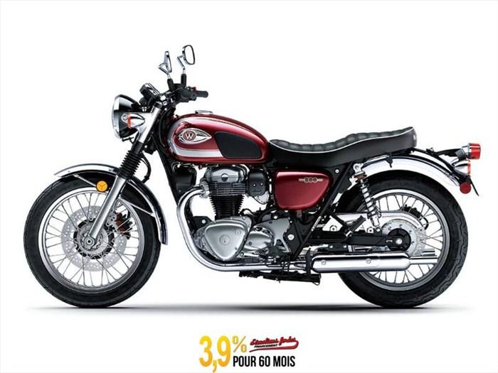 2020 Kawasaki W800 - ROUGE CARDINAL Photo 1 of 23