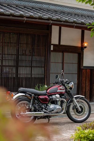 2020 Kawasaki W800 - ROUGE CARDINAL Photo 18 of 23