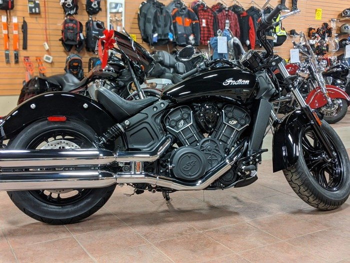 2021 Indian Motorcycle® Scout® Sixty Thunder Black Photo 1 of 12