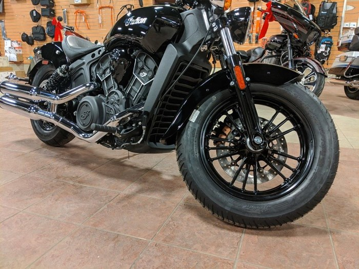 2021 Indian Motorcycle® Scout® Sixty Thunder Black Photo 3 of 12