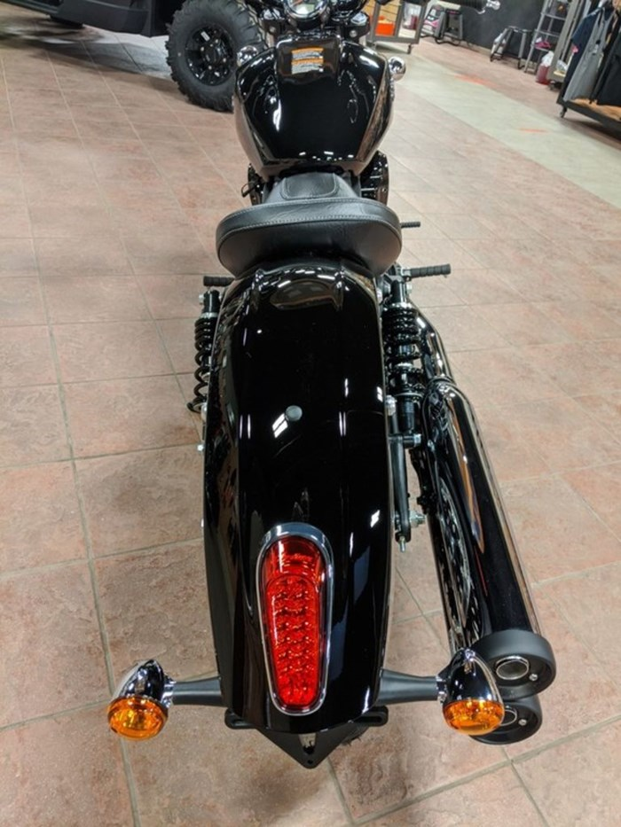 2021 Indian Motorcycle® Scout® Sixty Thunder Black Photo 9 of 12