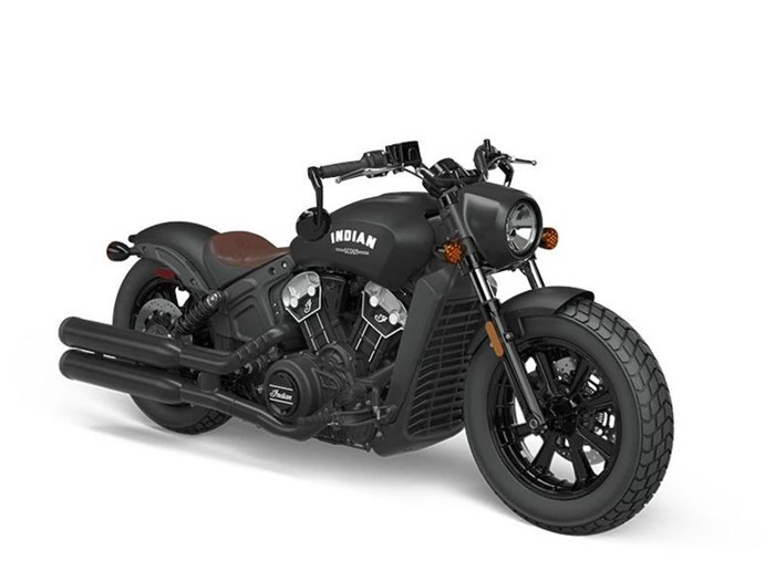 2021 Indian Motorcycle® Scout® Bobber ABS Thunder Black Photo 5 of 5