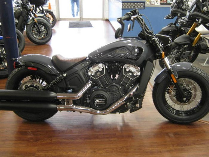 2021 Indian Motorcycle® Scout® Bobber Twenty ABS Stealth Gray Photo 3 of 4