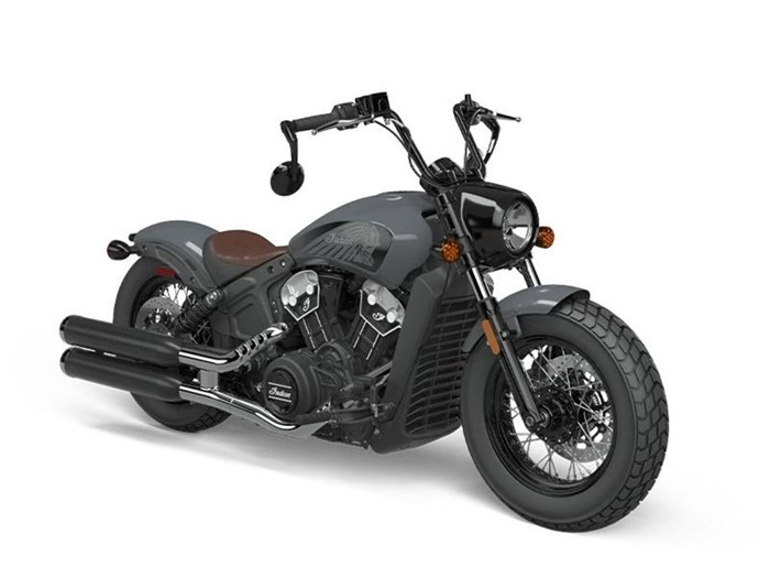 2021 Indian Motorcycle® Scout® Bobber Twenty ABS Stealth Gray Photo 4 of 4