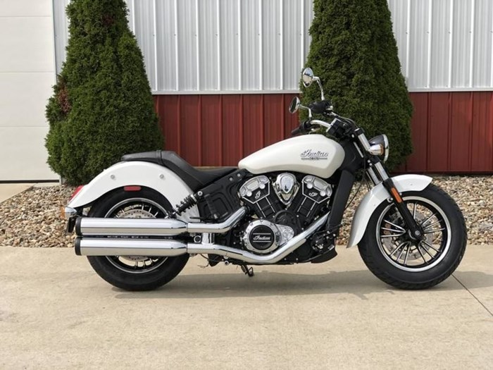 2021 Indian Motorcycle® Scout® ABS White Smoke Photo 1 of 4
