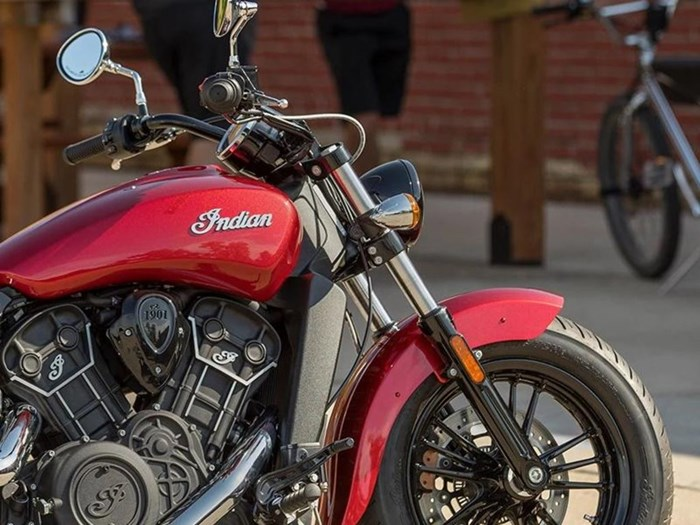 2021 Indian Motorcycle® Scout® Sixty ABS Ruby Metallic Photo 2 of 4