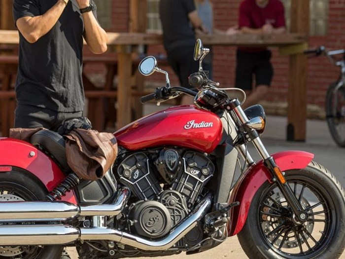 2021 Indian Motorcycle® Scout® Sixty ABS Ruby Metallic Photo 4 of 4