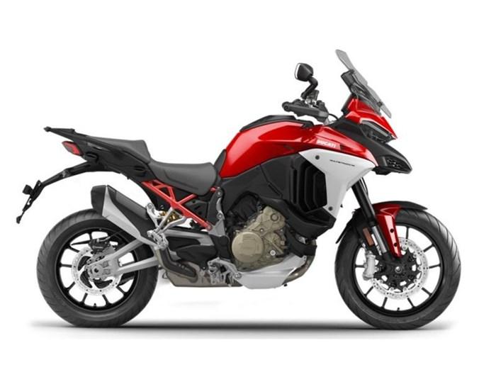 2021 Ducati Multistrada V4 Ducati Red Photo 1 of 1