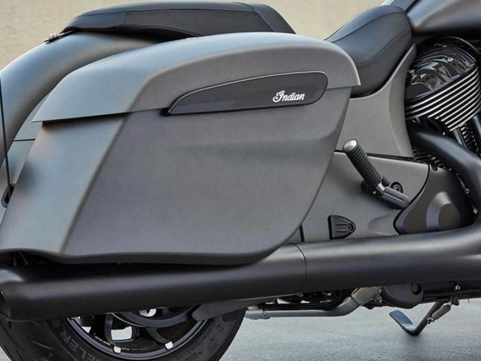 2021 Indian Motorcycle® Chieftain® Dark Horse® Titanium Smoke Photo 2 of 5