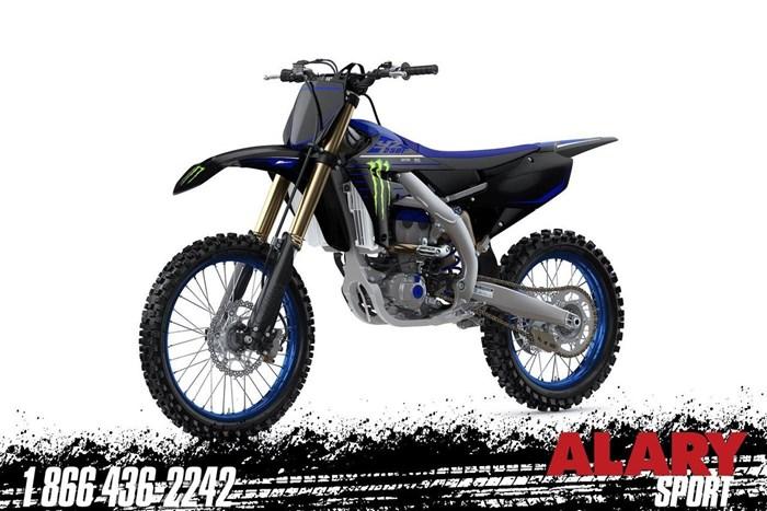 2021 Yamaha YZ250F MONSTER ENERGY Photo 1 of 2