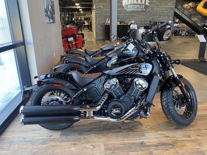 2021 Indian Motorcycle® Scout® Bobber Twenty ABS Thunder Black Photo 1 of 8