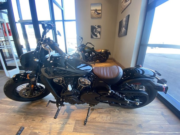 2021 Indian Motorcycle® Scout® Bobber Twenty ABS Thunder Black Photo 3 of 8